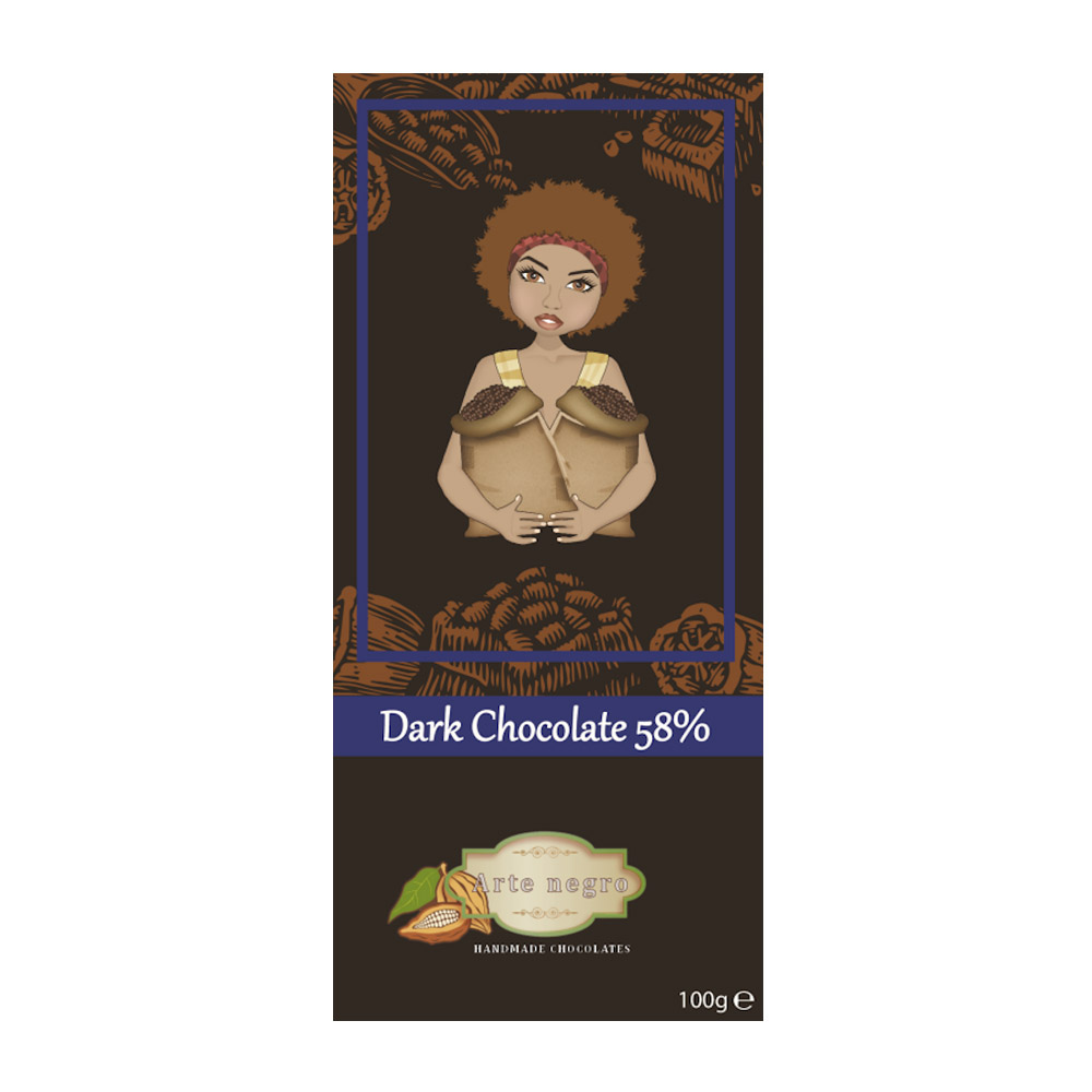 08 Dark Cholate 58%